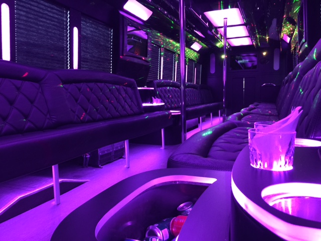 Party bus rental denver service