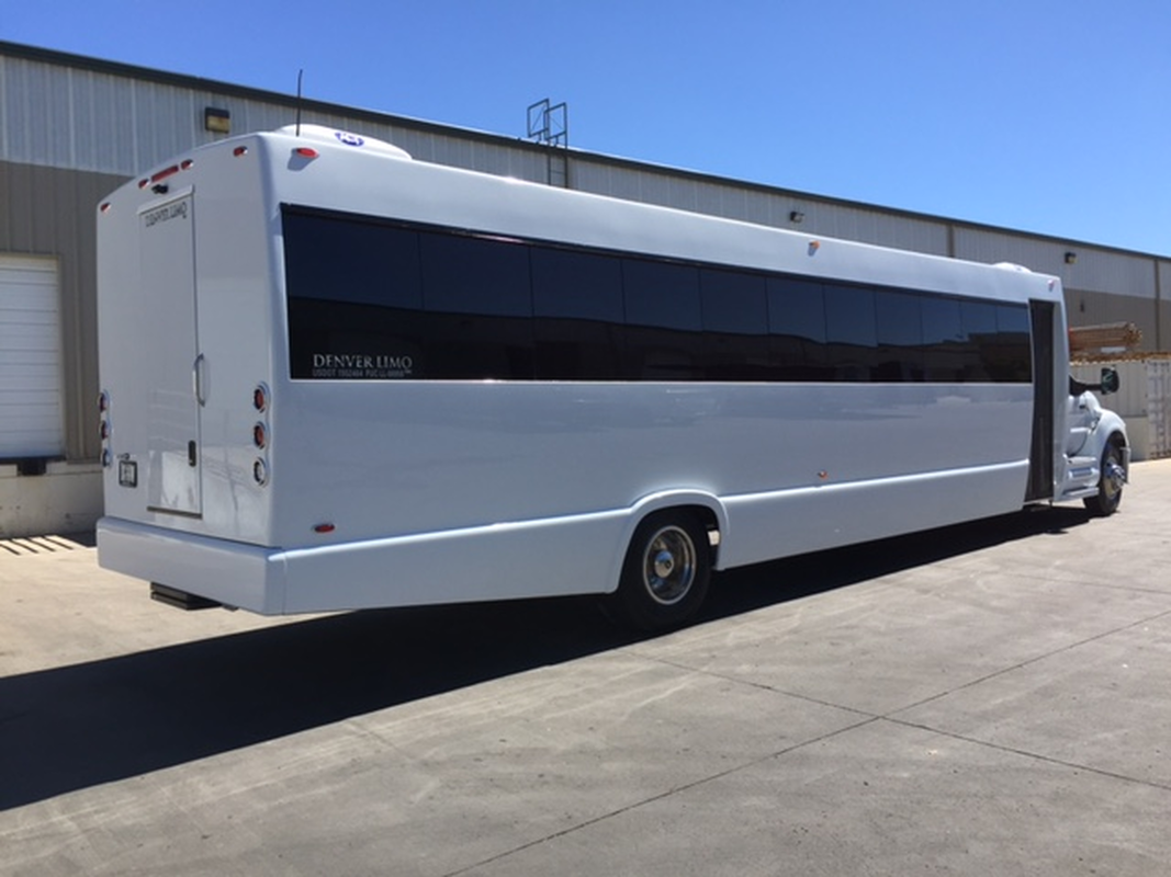 party bus rentals around denver